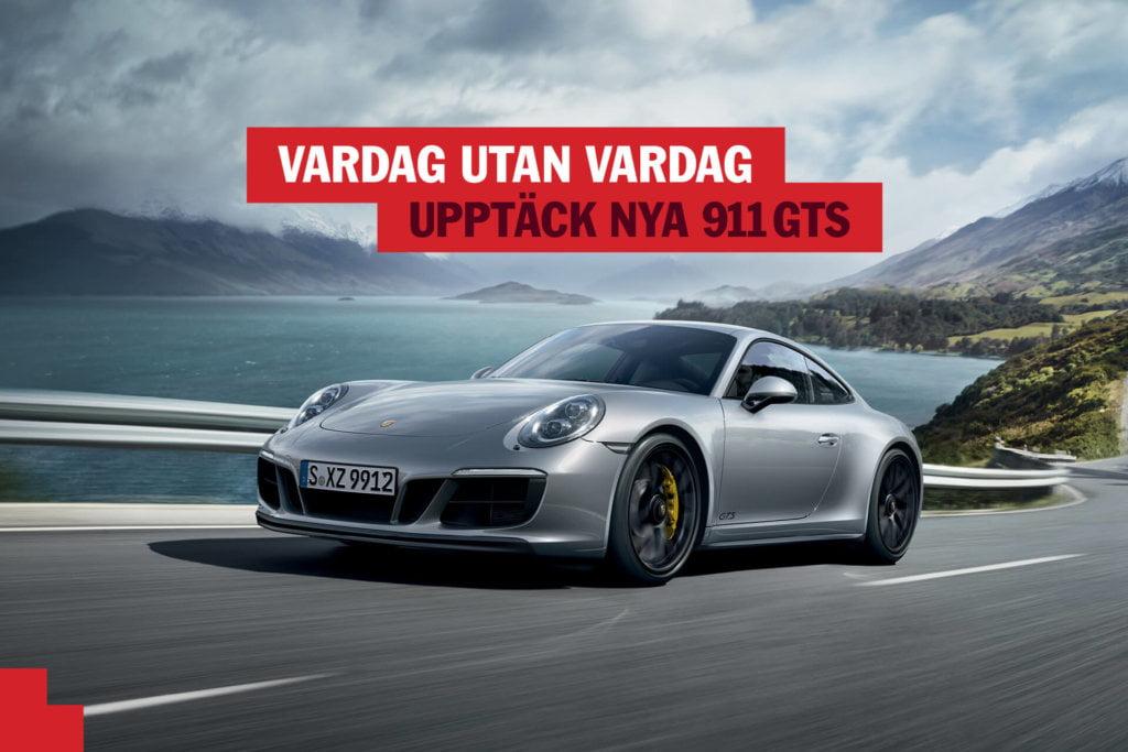 Porsche : 911 GTS Launch