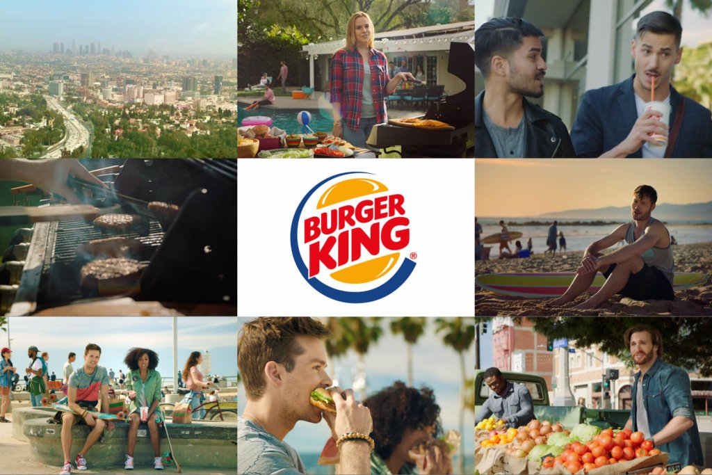 Burger King : Flame Grilled Burgers