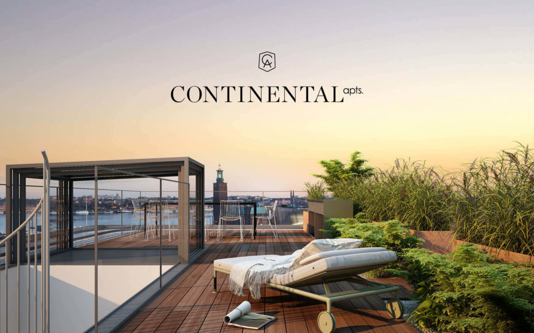 Continental Apts : Windows to Stockholm
