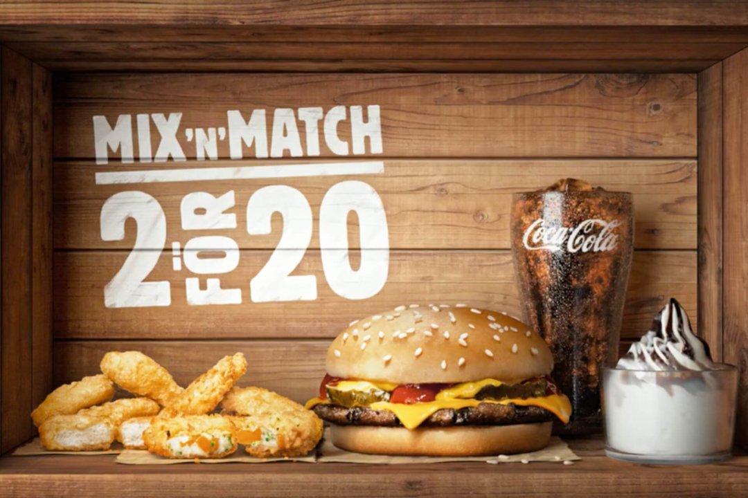 Burger King : MIX'N'MATCH