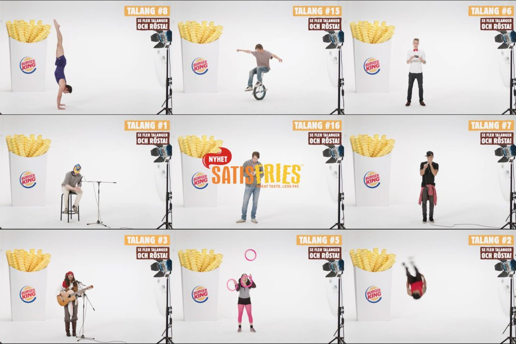 Burger King: Satisfries