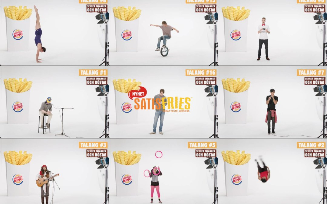 Burger King: Satisfries