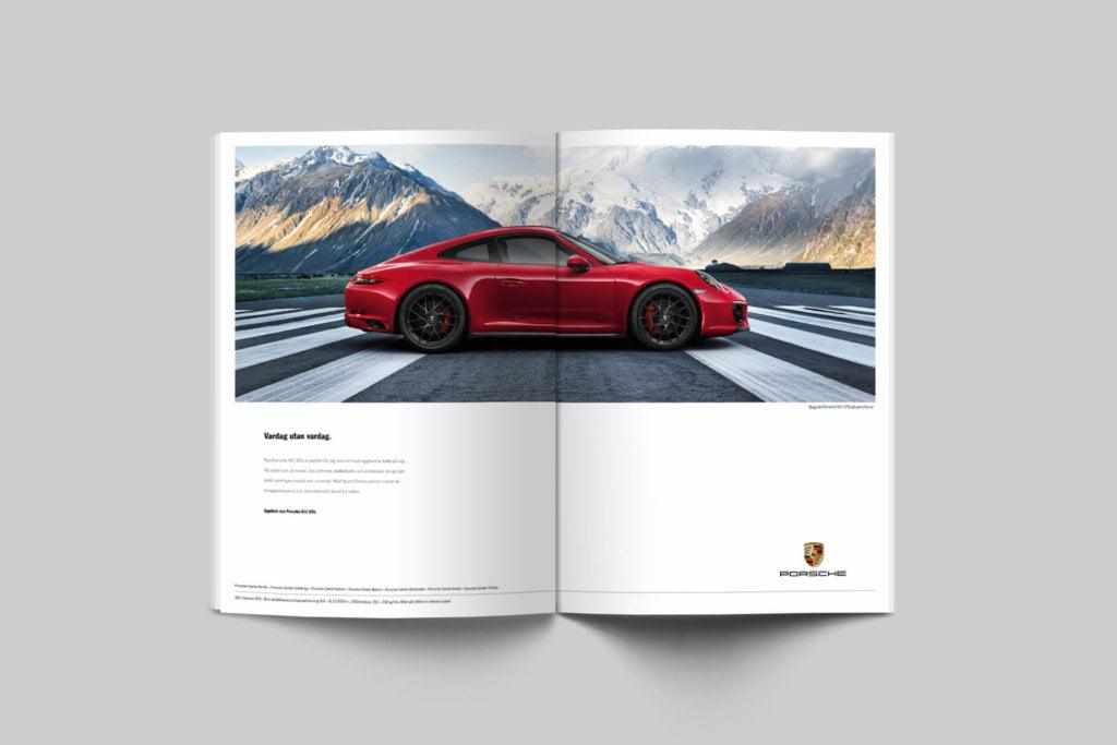 Porsche : Advertising