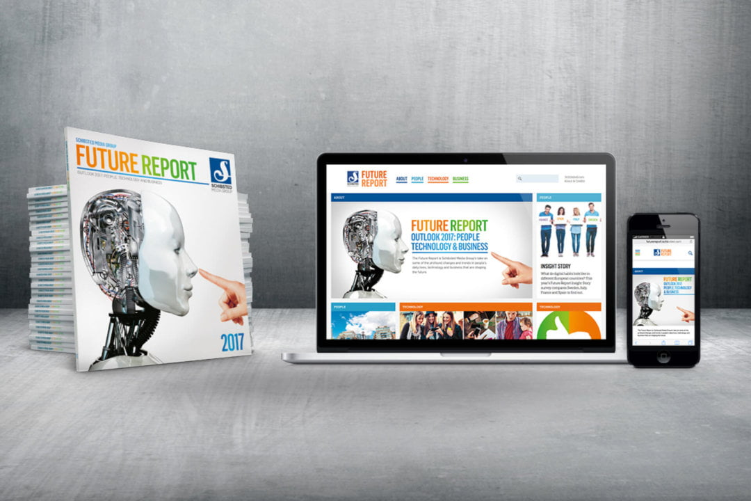 SCHIBSTED : FUTURE REPORT