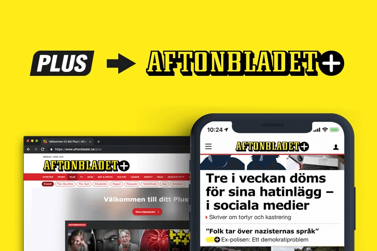 AFTONBLADET PLUS : RELAUNCHING ONLINE SUBSCRIPTIONS