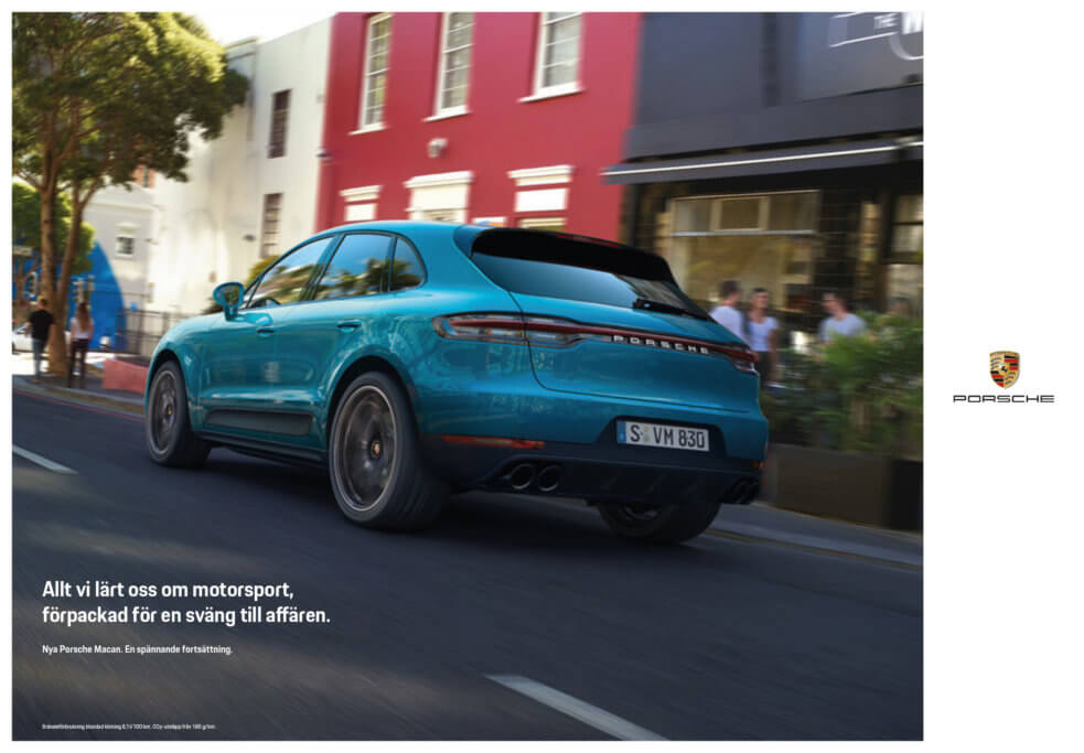 Porsche Macan Annons 1